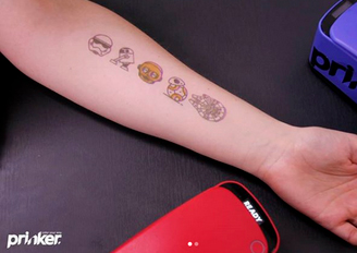 prinker europe machines tatouages temporaires